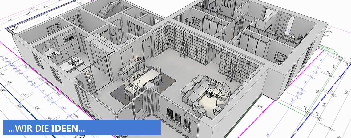 Innenarchitektur 3d planung d rr planen einrichten for Innenarchitektur planung